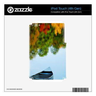 Canoa de Oconee iPod Touch 4G Calcomanía