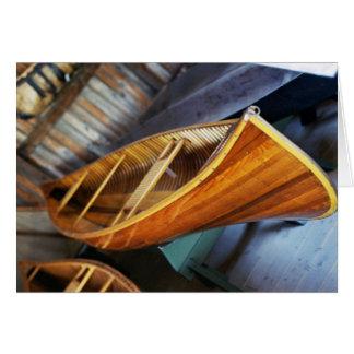 Canoa de Peterborough Tarjetas