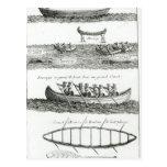 Canoa del Iroquois Postales