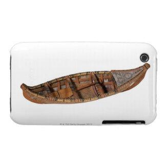 Canoa esquimal iPhone 3 Case-Mate cobertura