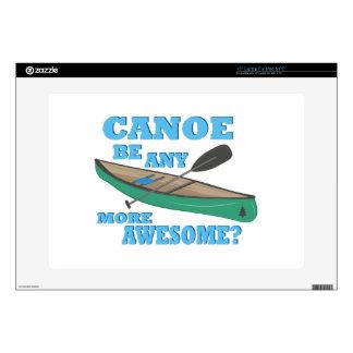Canoa impresionante portátil calcomanías
