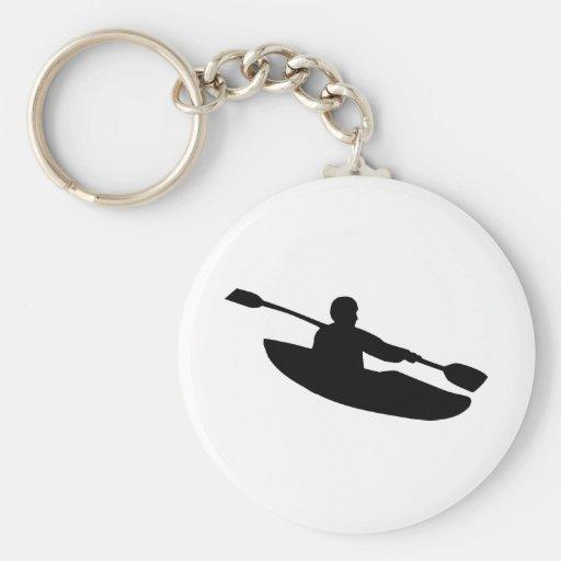 Canoa - kajak llaveros personalizados