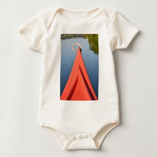 Canoa roja body para bebé
