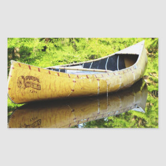 Canoa vieja rectangular altavoz