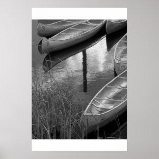 Canoas Póster