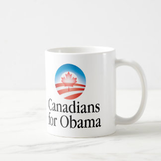 canobama classic white coffee mug