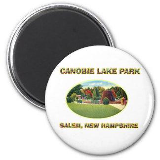 Canobie Lake Park 2 Inch Round Magnet