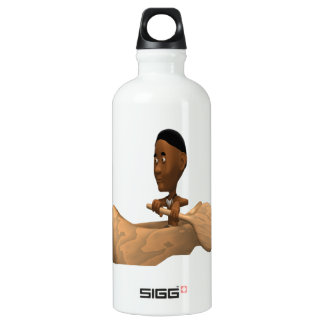 Canoe 2 aluminum water bottle