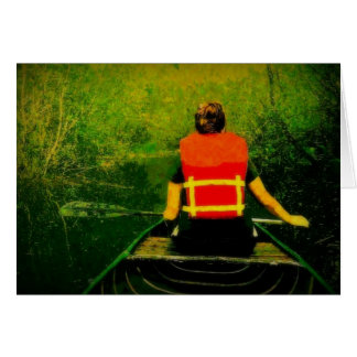 Canoe Adventures Greeting Card