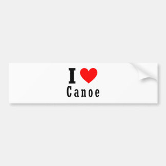 Canoe, Alabama City Design Car Bumper Sticker