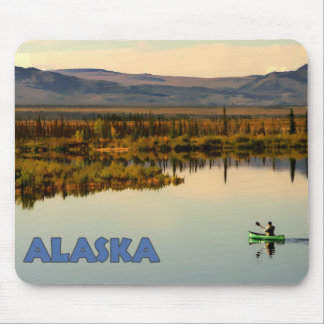 Canoe Alaska Mousepads
