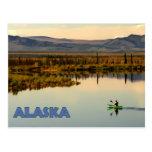 Canoe Alaska Postcard