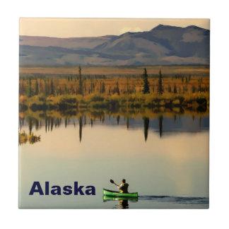 Canoe Alaska Ceramic Tiles
