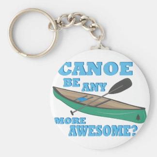 Canoe Awesome Keychain