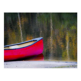 Canoe Blank Postcard