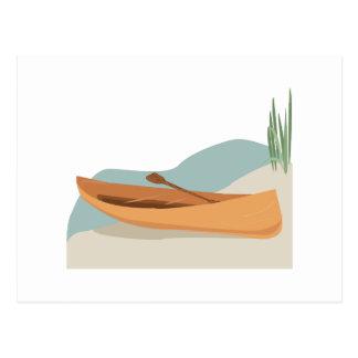 Canoe Boat Postcard
