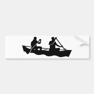 Canoe Bumper Sticker