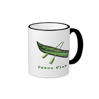 Canoe Club Design Ringer Coffee Mug