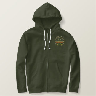 Canoe Crew Canoeing Sports Embroidered Hoodie
