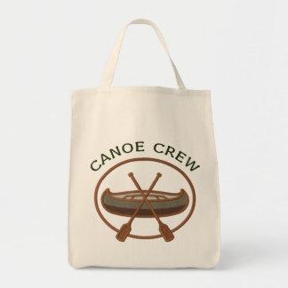 Canoe Crew Canoeing Tote Bag