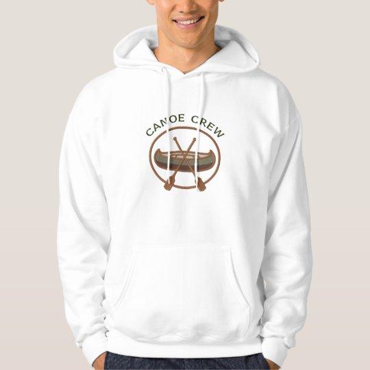 Canoe Crew Canoeing Water Sports Hoodie