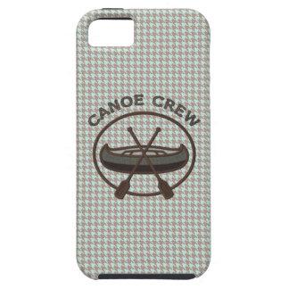 Canoe Crew Sports Logo on Herringbone iPhone 5 Case