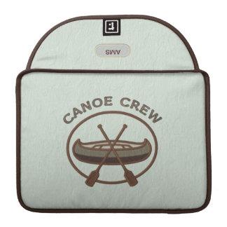 Canoe Crew Water Sports Insignia Custom Monogram Sleeve For MacBooks
