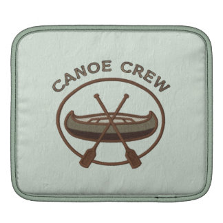 Canoe Crew Water Sports Insignia Green and Brown Sleeves For iPads