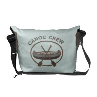 Canoe Crew Water Sports Insignia Messenger Bag