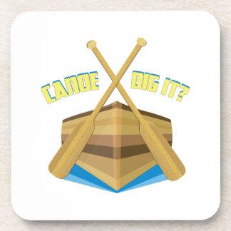 Canoe Dig It? Beverage Coasters