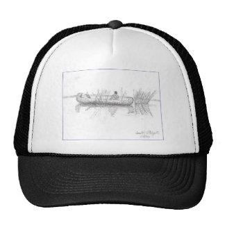 CANOE DRAWING.PNG TRUCKER HAT