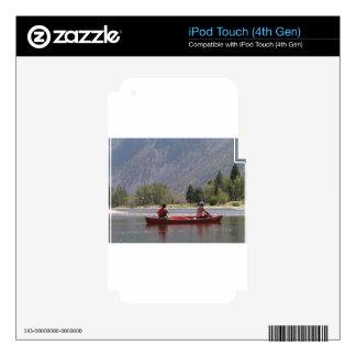 Canoe el río de Similkameen, meridional A.C. iPod Touch 4G Skins