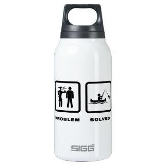 Canoe Fishing Insulated Water Bottle