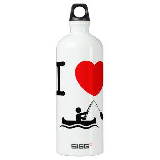 Canoe Fishing Water Bottle