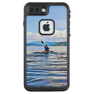 Canoe Kayak Boat Lake Ocean Photo Digital Art LifeProof FRĒ iPhone 7 Plus Case