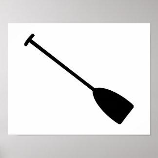 Canoe Kayak Paddle Print