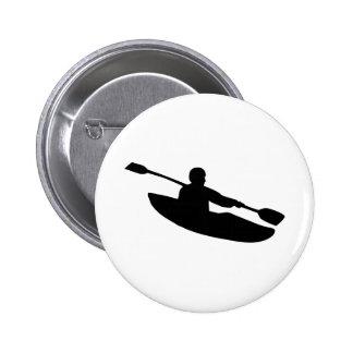 Canoe - Kayak Pinback Button