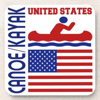 Canoe Kayak United States Coasters