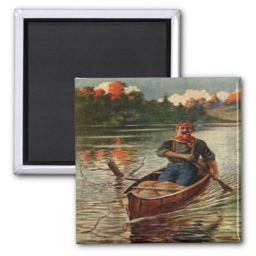 Canoe North Country Refrigerator Magnets