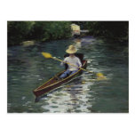 Canoe on the Yerres River - Gustave Caillebotte Postcard