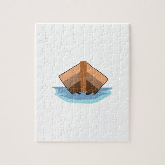 CANOE ON WATER JIGSAW PUZZLE