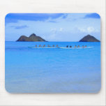 Canoe Paddlers Mouse Pads