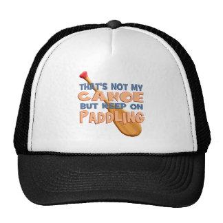 Canoe Paddling Trucker Hat