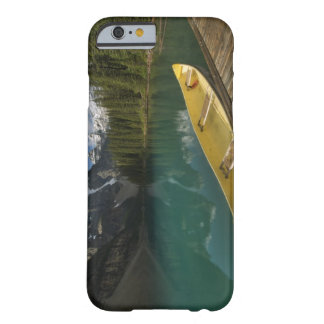 Canoe parked at a dock along Moraine Lake, Banff Barely There iPhone 6 Case