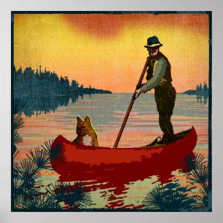Canoe Poster