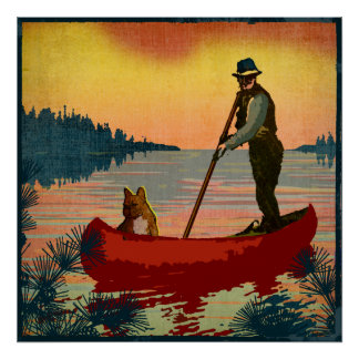 Canoe Posters