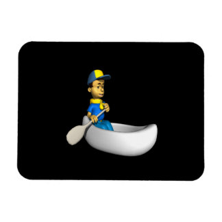 Canoe Rectangular Magnets