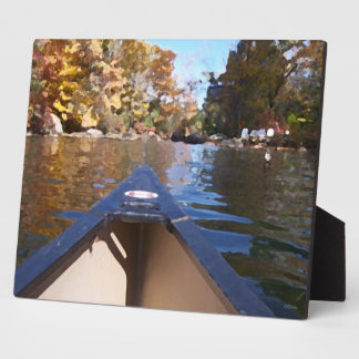 Canoe Ride Plaque