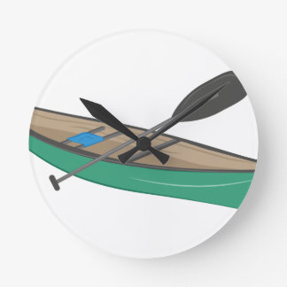 Canoe Round Clock
