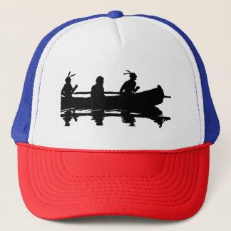 Canoe Silhouette Trucker Hat